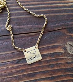 Customizable State Pride Necklace