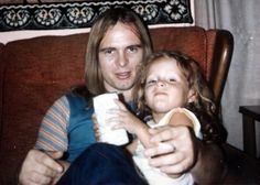 Ronnie Van Zant Family | Me and my dad, Ronnie Van Zant. When we were together we were some ...