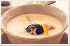 ビタクラフトだからできる本当の無水調理による料理レシピを公開しています。素材を活かすヘルシーレシピ集(蒸す:茶碗蒸し)
