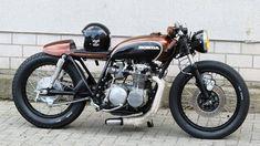 """Honda CB 500 Four Cafe Racer """"Kobra"""" by Fate Customs"""
