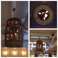 Barrel light @ The Belfry Hotel, England