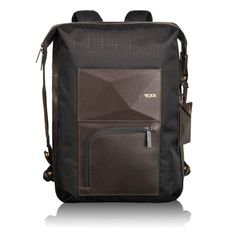 Tumi Dror Backpack - The Dror backpack transforms just to your wish or purpose into a tote, briefcase or the backpack variant.
