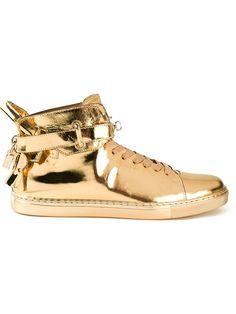 Buscemi Hi-top Sneakers - Smets - Farfetch.com