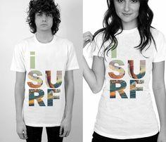 I Surf Tee