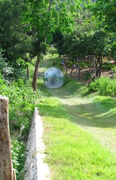 Zorbing in Boracay, Philippines. I need one of these for my daily life. Visit Philippines, Boracay Philippines, Philippines Travel, Vacation Destinations, Vacation Trips, Places To Travel, Places To See, Philippine Holidays, Fantasy Island