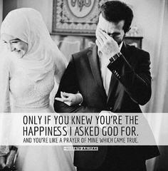Marriage in islam Alhamdulillah Muslim Couple Quotes, Cute Muslim Couples, Muslim Love Quotes, Love In Islam, Islamic Love Quotes, Islamic Inspirational Quotes, Religious Quotes, Motivational Quotes, Hadith