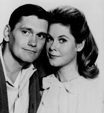 Dick York & Elizabeth Montgomery as Darrin & Samantha Stephens on Bewitched - The Best!!