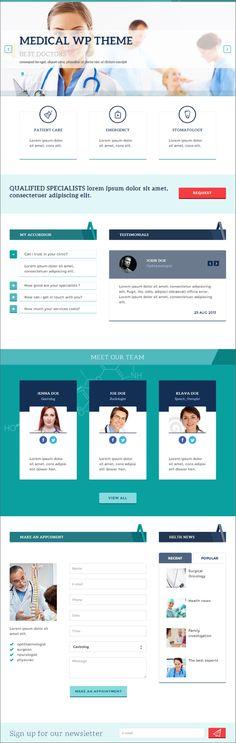 MedPark - Wordpress Theme für Ärzte
