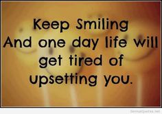 MAXMILLIAN THE SECOND: Keep smiling to day