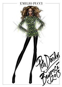 Emilio Pucci Outfits Beyonce's Mrs. Carter Show