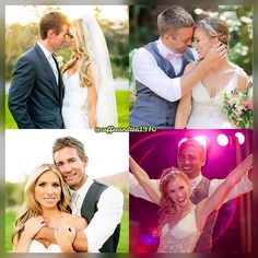 Beautiful Wedding photos / Caleb & Stephanie, Cody & Felicia / ✨✨
