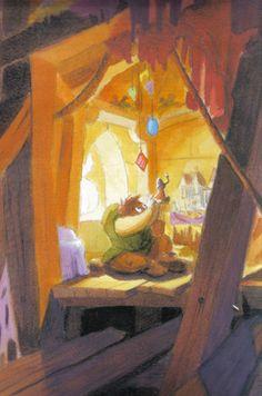 Quasimodo The Hunchback of Notredame  #disneyconceptart #disney