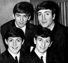 """beatles-cartoon-analysis: """"are they wearing eyeliner I can't tell """""""