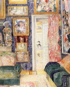 The Artist's Studio by James Ensor, 1930