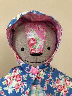 Sugar Flower Bunny Doll in Pink