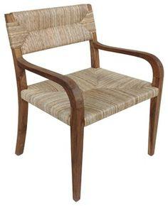 Bowie Armchair, Teak - modern dining chairs