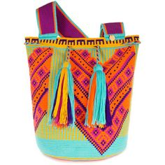Castellano Ethnic Origins Wayuu Ka'i Beach Bag