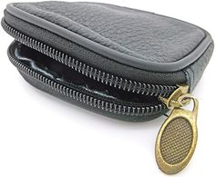 Koffer, Rucksäcke & Taschen, Zubehör, Schlüsselmäppchen, Damen Zip Around Wallet, Coin Purse, Purses, Get Tan, Bags, Leather, Black, Women's, Handbags