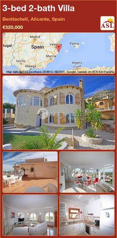 3-bed 2-bath Villa in Benitachell, Alicante, Spain ►€320,000 #PropertyForSaleInSpain