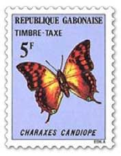 stamp-1978-charaxes-candiope West Africa, Butterflies, Insects, Stamps, Seals, Butterfly, Postage Stamps, Stamp