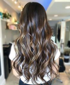 Hair goals. Shiny and long