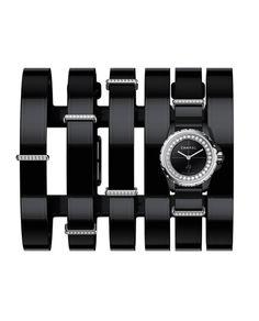 Montre-manchette large J12.XS de Chanel