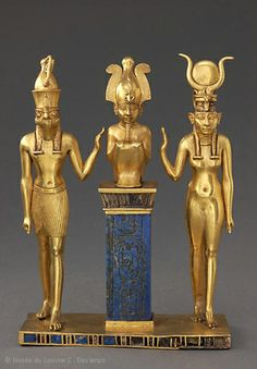 Pendant with the Name of King Osorkon II: the God Osiris's Family