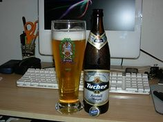 Tucher Kristall Weizen...one of my favorite beer's
