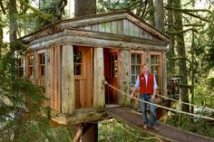 Pete Nelson on the New Reality Television Series 'Treehouse Masters'