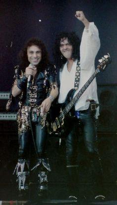 Both you lovely men R. Portsmouth, James Dio, Rainbow Band, Heavy Metal Rock, Extreme Metal, Live Rock, Rock Legends, Black Sabbath, Dios