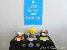 "Photo 1 of 25: Live Long & Prosper / Birthday ""Classic Star Trek Party"""