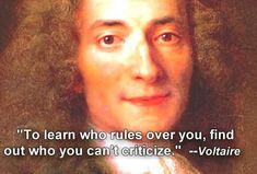 Wise Words From Voltaire