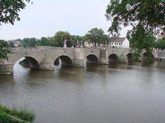 Bridge in Písek CZ Czech Republic, Prague, Bridge, Southern, Bohemia, Europe, Bridges, Attic, Bro