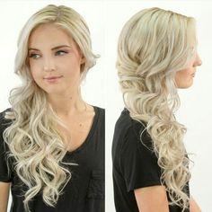Wedding Hairstyles For Long Hair Bridesmaid Side Curls 28 Ideas Curly Prom Hair, Prom Hairstyles For Long Hair, Side Swept Hairstyles, Curled Hairstyles, Easy Formal Hairstyles, Top Hairstyles, Bridal Hairstyles, Wedding Hair And Makeup, Hair Makeup