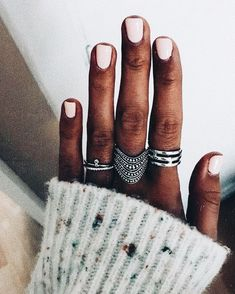 beautiful boho jewelry in silver with pink gel nails Nail Jewelry, Art Deco Jewelry, Cute Jewelry, Jewelry Accessories, Jewellery, Bohemian Accessories, Boho Jewelry, Mani Pedi, Manicure And Pedicure