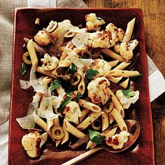 Roasted Cauliflower Pasta | MyRecipes.com