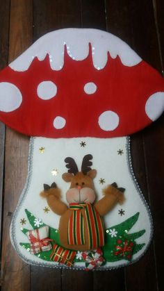 Christmas Snowman, Christmas Stockings, Holiday Tree, Holiday Decor, Felt Stocking, Hand Sewing, Whimsical, Home Decor, Ideas