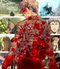 Jean - the coward turned badass. Providing average nerds with the wanton hope that they too, could someday face Titans.