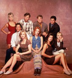 1995 cast of Melrose Place