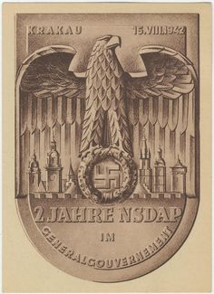 2 years for the NSDAP in Generalgouvernement a