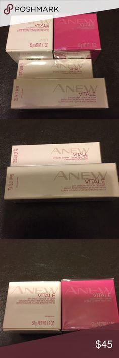 AVON: Anew Vitale creams AVON: Anew Vitale creams; Day lotion, Eye Gel, Day & Night Cream Avon Other