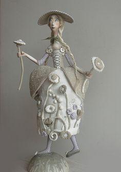 Art dolls by Anna Zueva, via Flickr