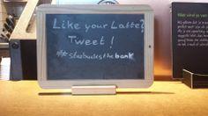 Like your Latte? TWEET! #Starbucks #TMOtrenddag