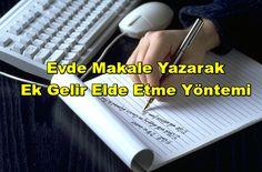 Evde Makale Yazarak Ek Gelir Elde Etme Yöntemleri - http://hobiteyze.com/evde-makale-yazarak-ek-gelir-elde-etme-yontemleri.html