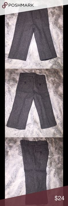 Janie & Jack Dress Pant Size: 12-18 months Shell: 50% Wool, 50% Polyester  Lining: 100% Polyester  Made in Vietnam Janie and Jack Bottoms Formal