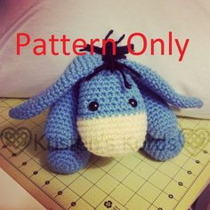 This listing is for the PATTERN only, not for the completed amigurumi. For the finished product, see this listing