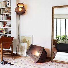 MOIRE - Lampe/Applique/Suspension Noir Ø50cm Petite Friture