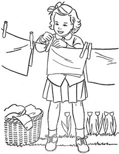 Free Kids Coloring Pages, School Coloring Pages, Coloring Pages To Print, Free Printable Coloring Pages, Coloring Book Pages, Coloring Sheets, Embroidery Stitches, Embroidery Patterns, Vintage Coloring Books