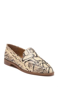 b9bce73aa30 Franco Sarto - Snakeskin Printed Hudley Loafer is now 44% off. Free Shipping  on