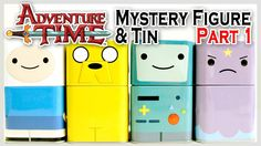 Adventure Time : Mystery Figure & Tin by Funko! - Part 1